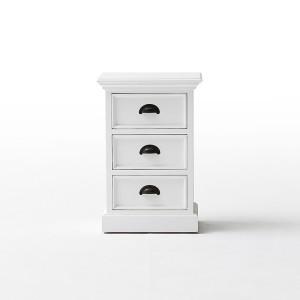 Halifax Painted Furniture 3 Drawer Bedside Cabinet