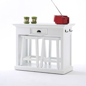 Halifax Painted Furniture Kitchen Table Set With Stools
