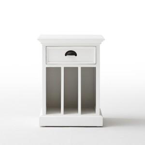 Halifax Painted Furniture Vertical Bedside Cabinet