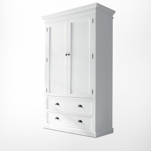 Halifax Painted Furniture Wardrobe With Drawers