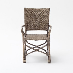 Nova Solo Wickerworks Countess Natural Black Wash Chair Pair