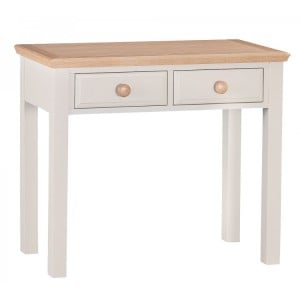 CLEARANCE Intone Painted Furniture 2 Drawer Dressing Table
