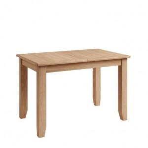 Exeter Light Oak Furniture 1.2m Extending Dining Table