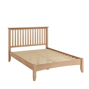 Exeter Light Oak Furniture Double 4ft6 Bed