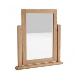 Exeter Light Oak Furniture Dressing Table Mirror