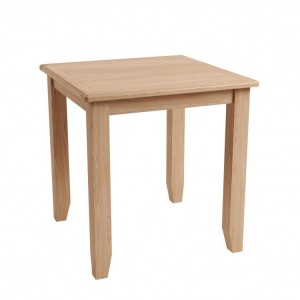 Exeter Light Oak Furniture Fixed Top Dining Table