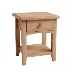 Exeter Light Oak Furniture Lamp Table