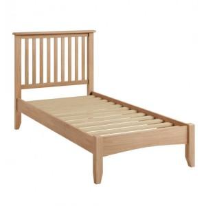Exeter Light Oak Furniture Single 3ft Bed