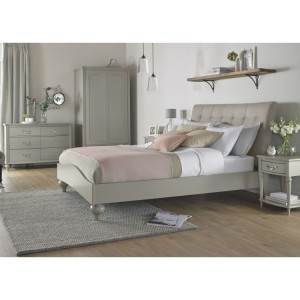 Bentley Designs Montreux Urban Grey Painted Furniture Kingsize 5ft Bedroom Set