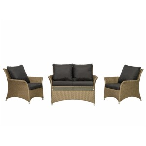 Royalcraft Bali 4 Seater Deluxe 4 Piece Lounging Coffee Set
