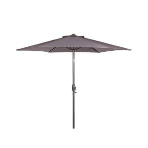 Royalcraft Garden Furniture Grey 2.5m Crank And Tilt Parasol