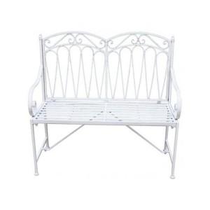Royalcraft Romance Antique White 2 Seater Bench