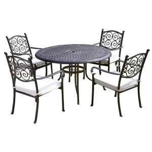 Royalcraft Versailles 4 Seater Round Dining Set