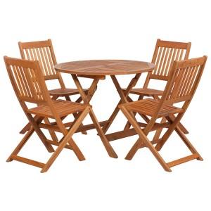 Royalcraft Manhattan 4 Seater Side Chair Dining Set