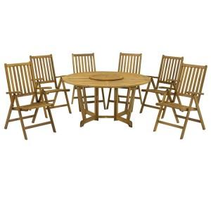 Royalcraft Henley Manhattan 6 Seater Gateleg Dining Set