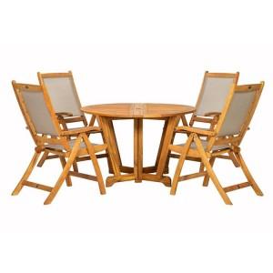 Royalcraft Henley 4 Seater Gateleg Round Dining Set