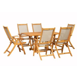 Royalcraft Henley 6 Seater Gateleg Rectangular Dining Set
