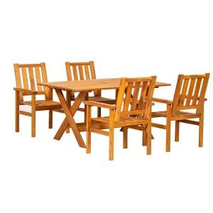 Royalcraft Homestead 4 Seater Rectangular Dining Set