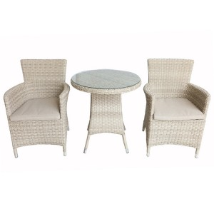 Royalcraft Lisbon 2 Seater Carver Bistro Set