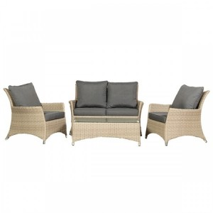 Royalcraft Lisbon Deluxe 4 Seater Lounging Coffee Set