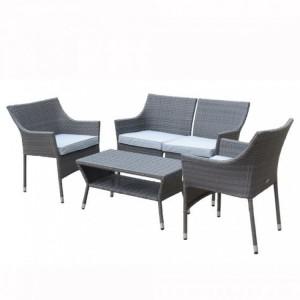 Royalcraft Marlow 5 Piece Stacking Coffee Lounge Set