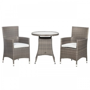 Royalcraft Marlow 2 Seater Bistro Set & Weather-Shield Cushions