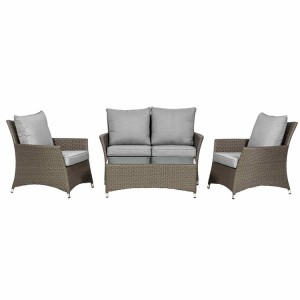 Royalcraft Paris 4 Piece Lounging Coffee Set With 2 Seater Sofa