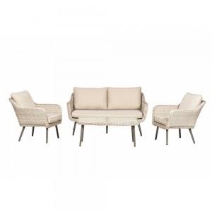 Royalcraft Seychelles 2 Seater Rattan Sofa Lounge Set