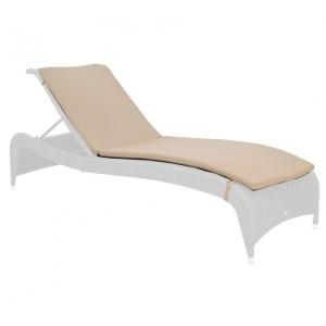 Alexander Rose Ocean Bronze Garden Fiji Cushion For Adjustable Sunbed