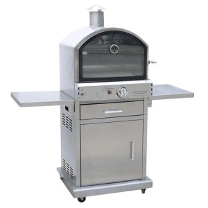 Lifestyle Appliances Milano Deluxe Stainless Steel Garden Pizza Oven