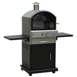 Lifestyle Appliances Verona Deluxe Black Garden Pizza Oven