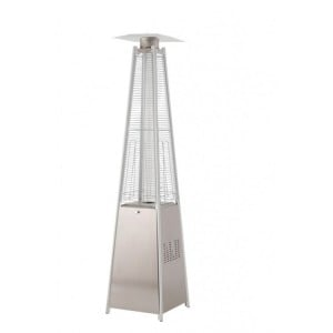 Lifestyle Appliances Tahiti Flame Heater Stainless Steel 13kw