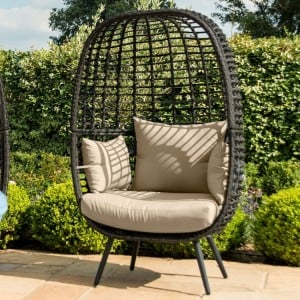 Maze Rattan Garden Furniture Riviera Brown Chair