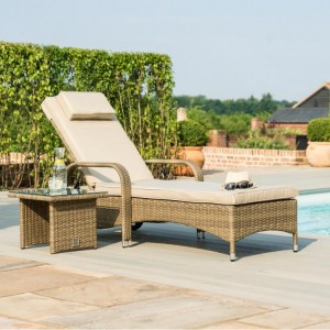 Maze Rattan Garden Furniture Tuscany Garden Florida Sunbed Set
