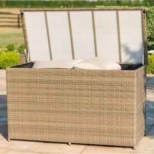 Maze Rattan Garden Furniture Tuscany Large Storage Box