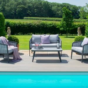 Maze Rattan Garden Furniture Portofino 2 Seat Sofa Set