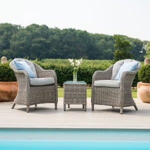Maze Rattan Garden Furniture Oxford 3 Piece Lounge Set - PRE ORDER