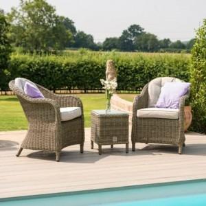 Maze Rattan Garden Furniture Winchester Garden 3 Piece Lounge Set