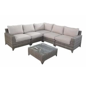 Stupendous Rattan Corner Lounge And Sofa Sets Rattan Garden Furniture Cjindustries Chair Design For Home Cjindustriesco