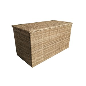 Signature Weave Triple Weave Caramel Large Cushion Storage Box
