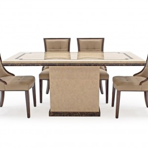 Vida Living Alfredo Marble Furniture 180cm Dining Table