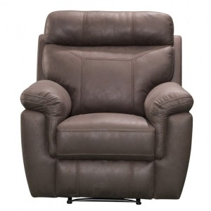 Vida Living Baxter Brown 1 Seater Recliner Armchair