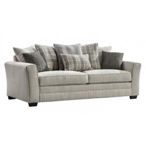 Vida Living Braemar Beige 3 Seater Sofa