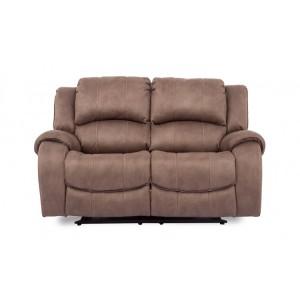 Vida Living Darwin Biscuit 2 Seater Recliner Sofa