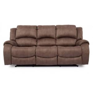 Vida Living Darwin Biscuit 3 Seater Recliner Sofa