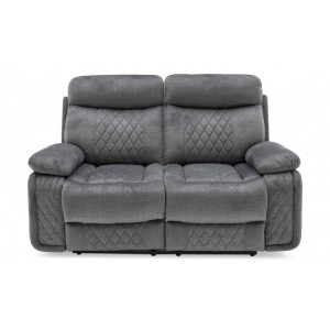 Vida Living Eason Grey 2 Seater Recliner Sofa