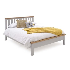 Vida Living Ferndale Painted Furniture 4ft6 Double Bed Low Footend