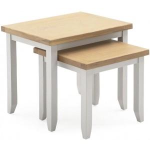 Vida Living Ferndale Painted Furniture Nest of Tables