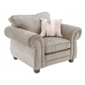 Vida Living Hollins Mink 1 Seater Armchair