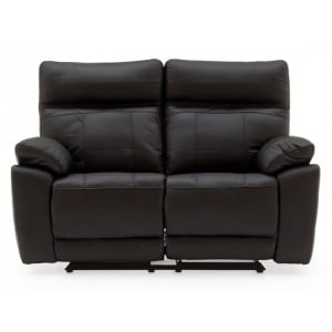 Vida Living Positano Black 2 Seater Recliner Sofa